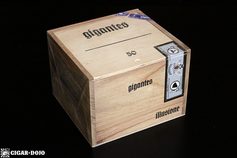 Illusione *G* Gigantes box of cigars