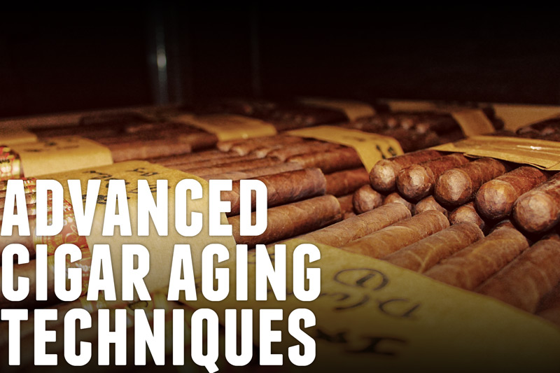 Advanced cigar aging techniques