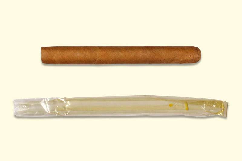 Cigar cellophane usage