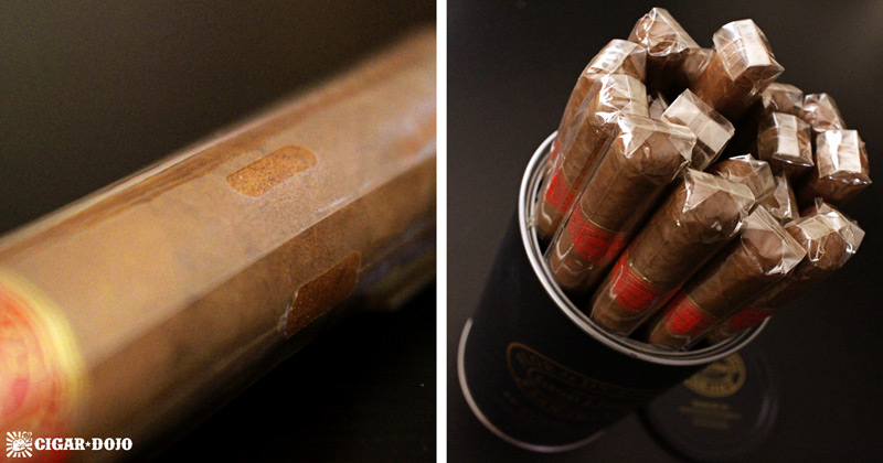 Flor de D'Crossier Selection No. 512 packaging presentation