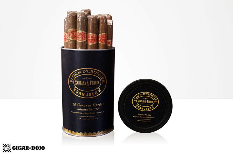 D'Crossier Selection No. 512 cigars