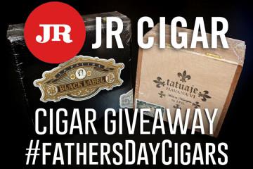 JR Cigar giveaway