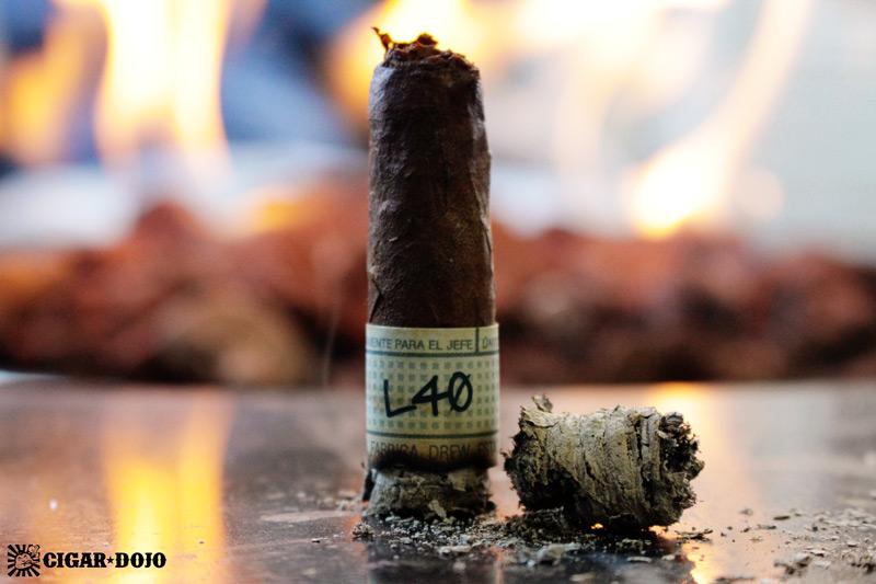 Liga Privada Unico Serie L40 Lancero cigar review and rating