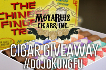 MoyaRuiz Cigars The Chinese Finger Trap cigar giveaway