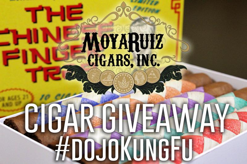 MoyaRuiz Cigars The Chinese Finger Trap cigar giveaway