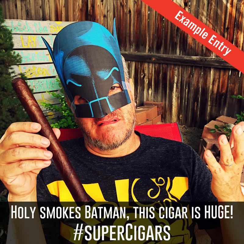 Rocky Patel cigar contest example entry