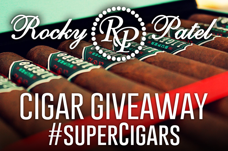 Rocky Patel Super Ligero cigar giveaway