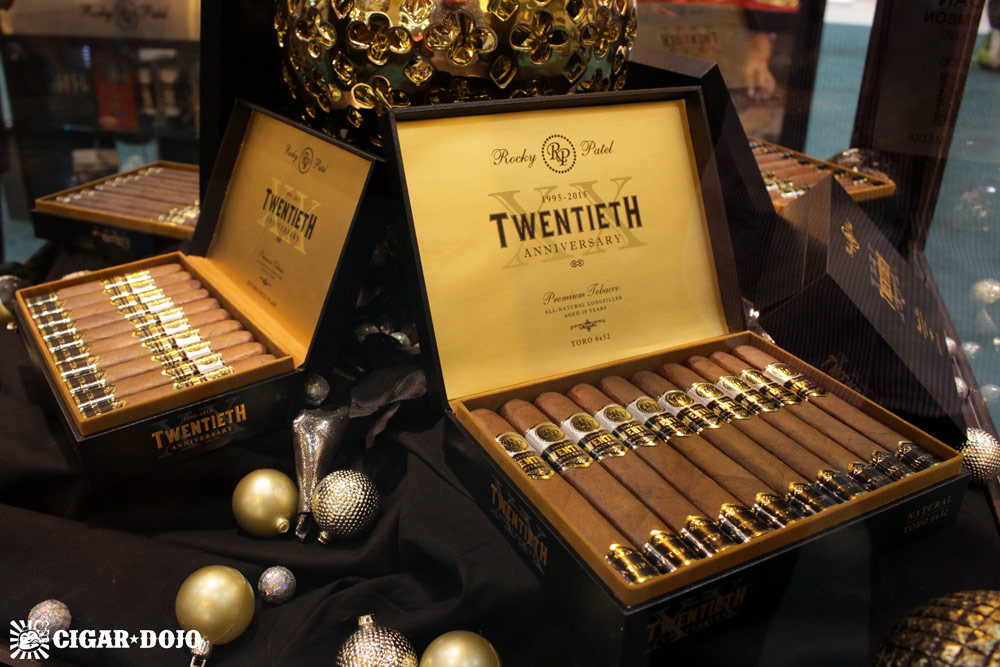 Rocky Patel Twentieth Anniversary cigars