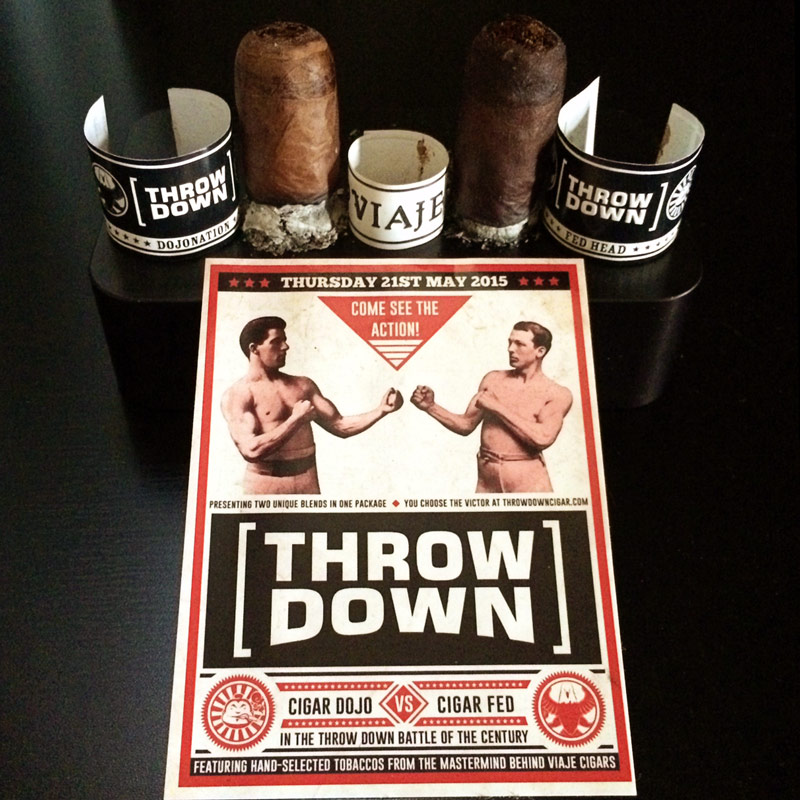 Viaje Throw Down cigar review and rating