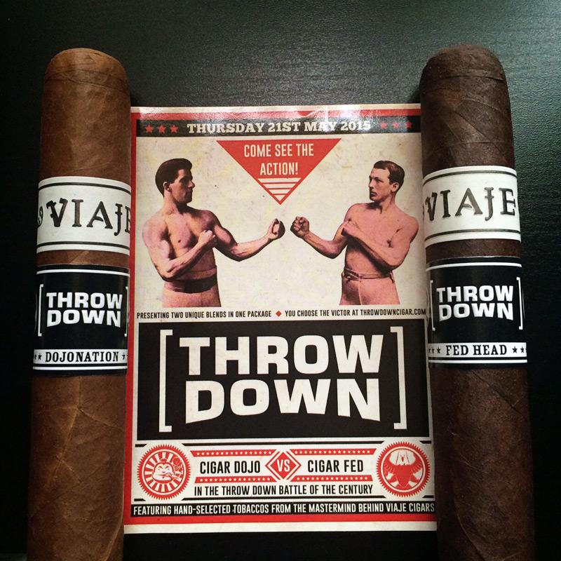 Viaje Throw Down cigar review