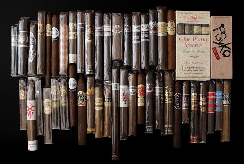 Bundle of 50 cigars giveaway