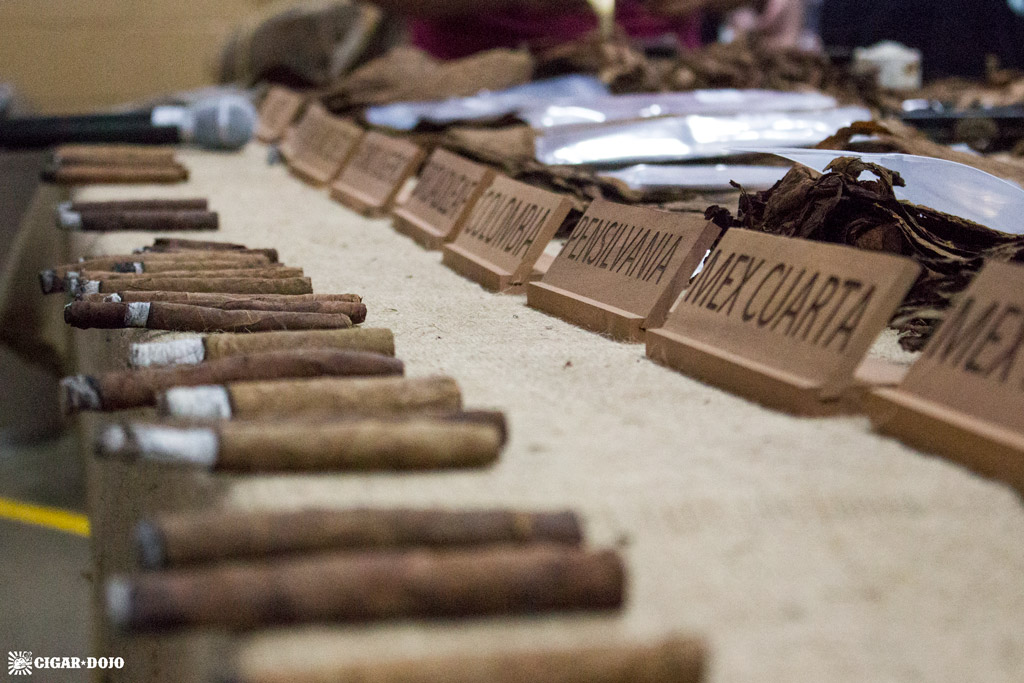 Cigar blending session General Cigar Dominicana