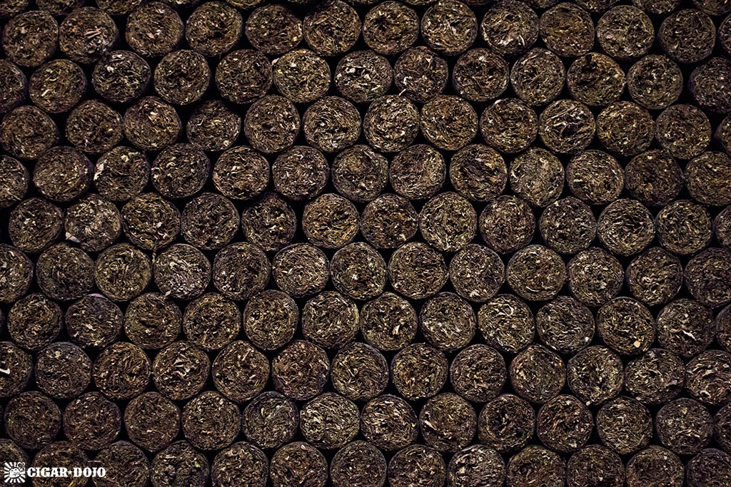 Cigars in aging room General Cigar Dominicana