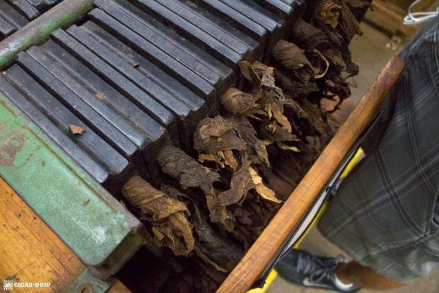 cigars in moulds