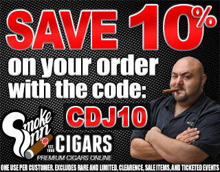 Get 10% off your cigar order at Smoke Inn
