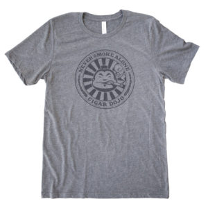 Cigar Dojo Gray *Insignia* Shirt