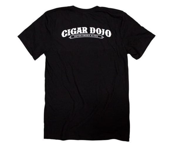 Cigar Dojo In Memory of my Last Cigar shirt back