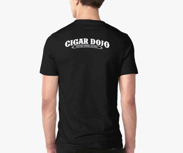 Cigar Dojo In Memory of my Last Cigar shirt model back