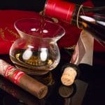 Pappy Van Winkle Tradition Belicoso Fino cigar and Pappy's 20-year pairing