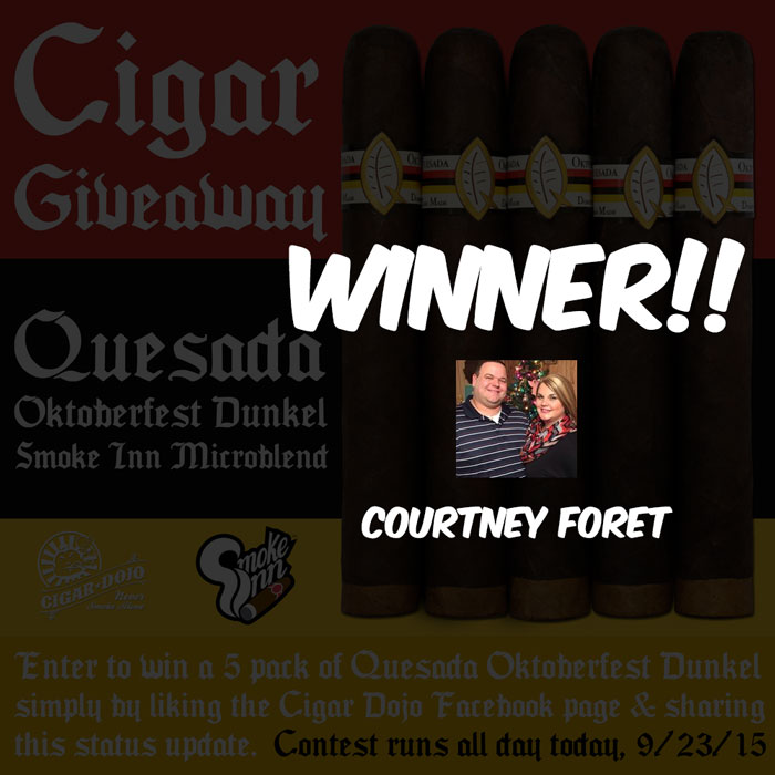 Quesada Oktoberfest Dunkel 5-pack contest winner