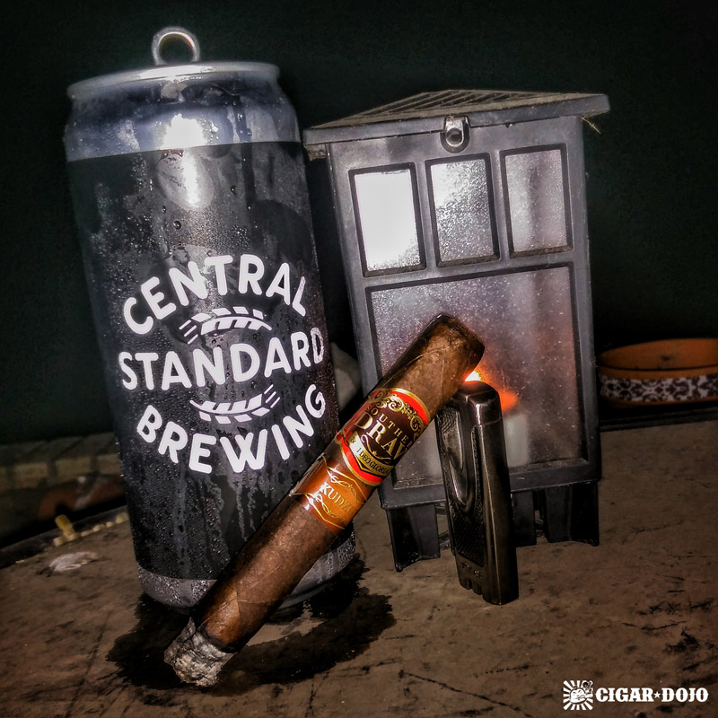 Southern Draw Kudzu cigar review and pairing