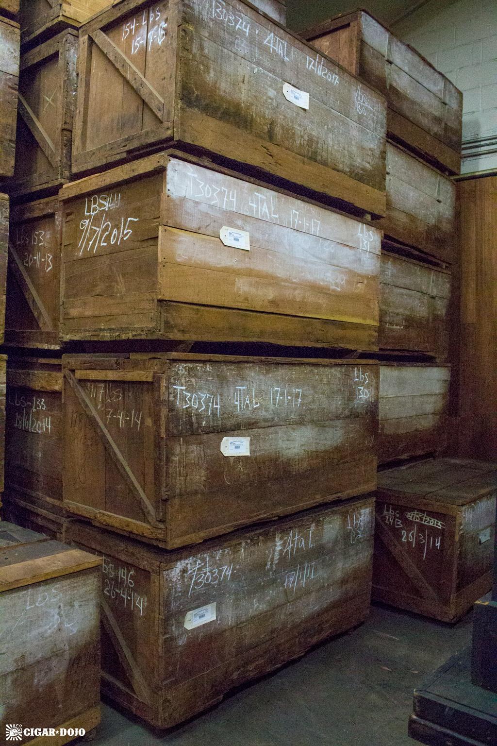Tobacco storage General Cigar Dominicana