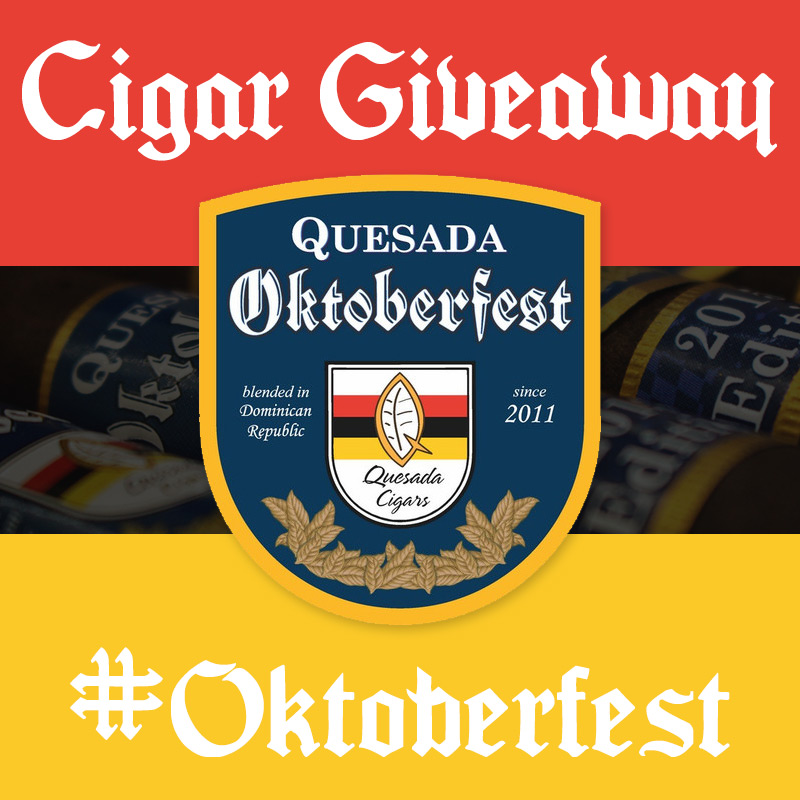 Quesada Oktoberfest cigar giveaway