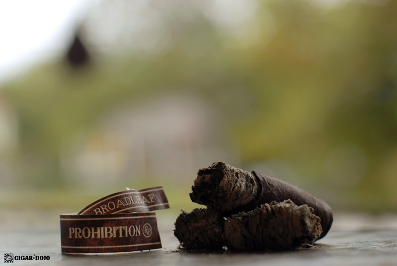 Rocky Patel Prohibition Connecticut Broadleaf maduro cigar review and rating