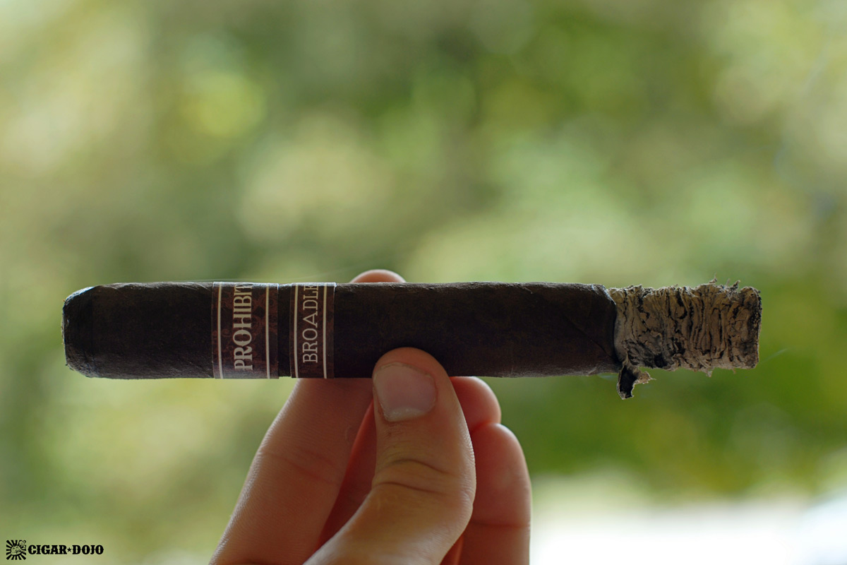 Rocky Patel Prohibition Connecticut Broadleaf maduro cigar review