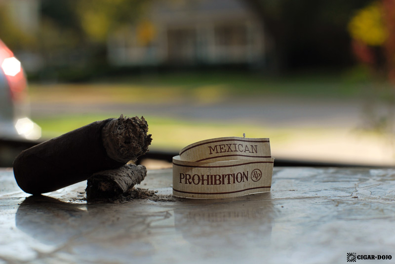 Rocky Patel Prohibition Mexican San Andreas maduro cigar review and rating