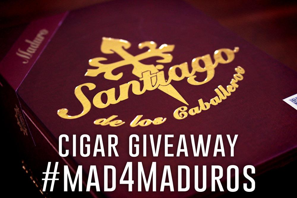 Santiago de Los Caballeros cigar giveaway