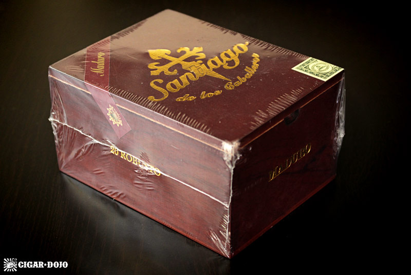 Santiago Cigars Maduro robusto box