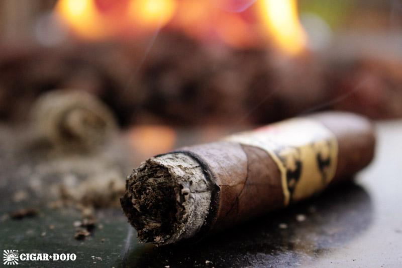 smoking & reviewing La Mission du L'Atelier cigar