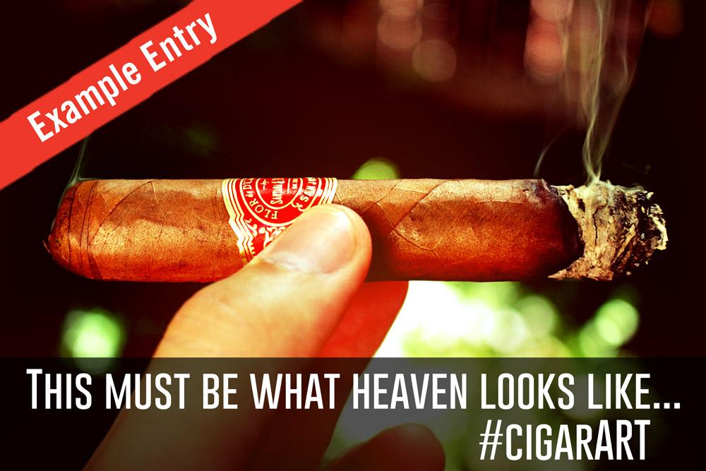 D'Crossier cigar contest example entry