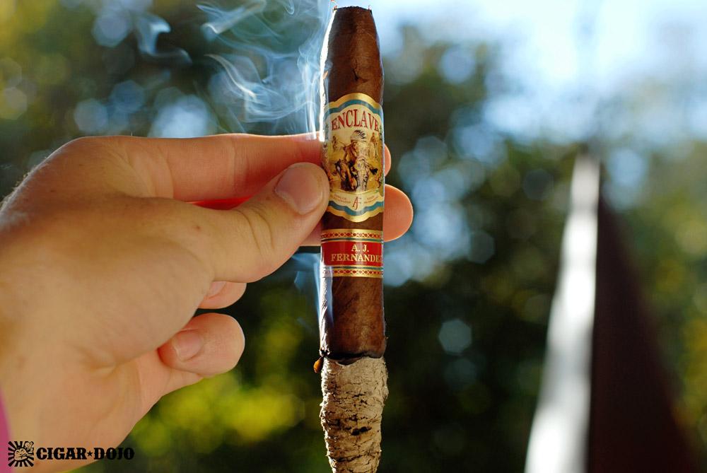 Enclave by AJ Fernandez cigar review