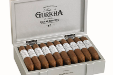Gurkha Cellar Reserve Platinum cigars announcement