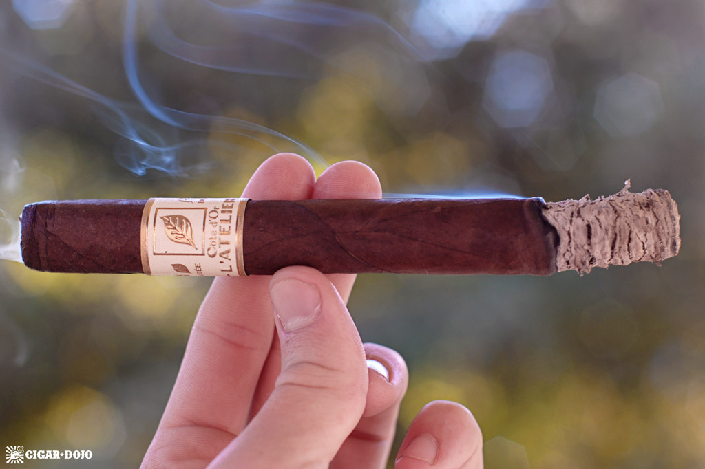 L'Atelier Côte d'Or smoking cigar review