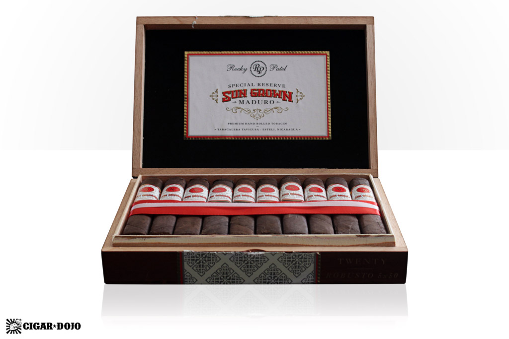 Rocky Patel Sun Grown Maduro box cigars