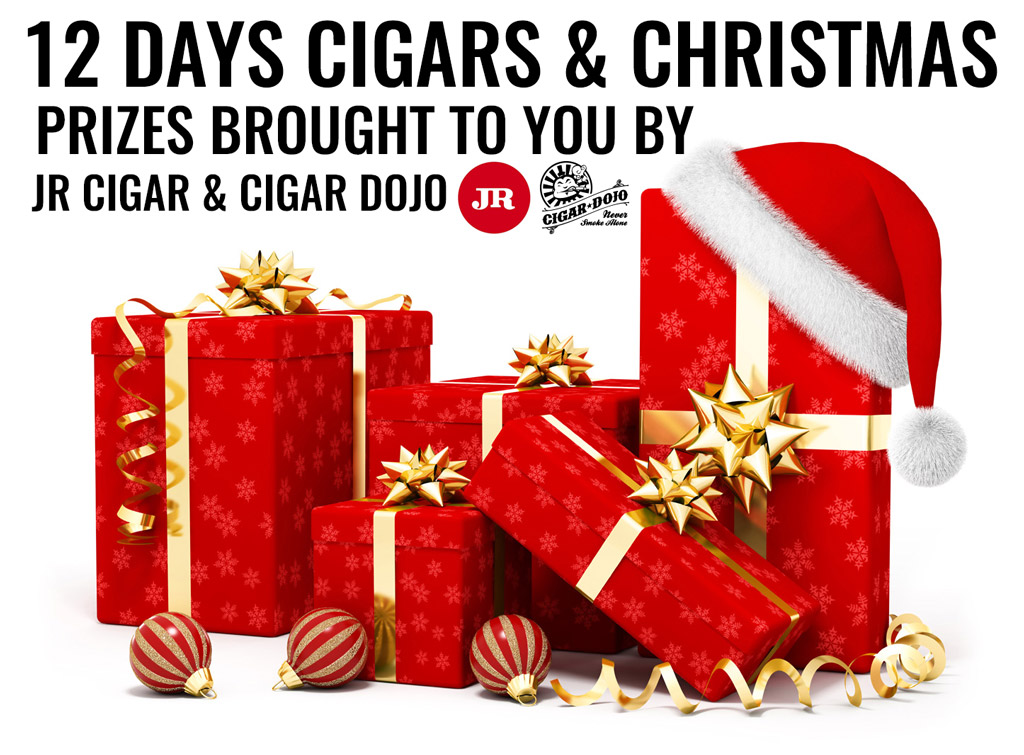 12 Days of Cigars and Christmas cigar prizes by JR Cigar and Cigar Dojo