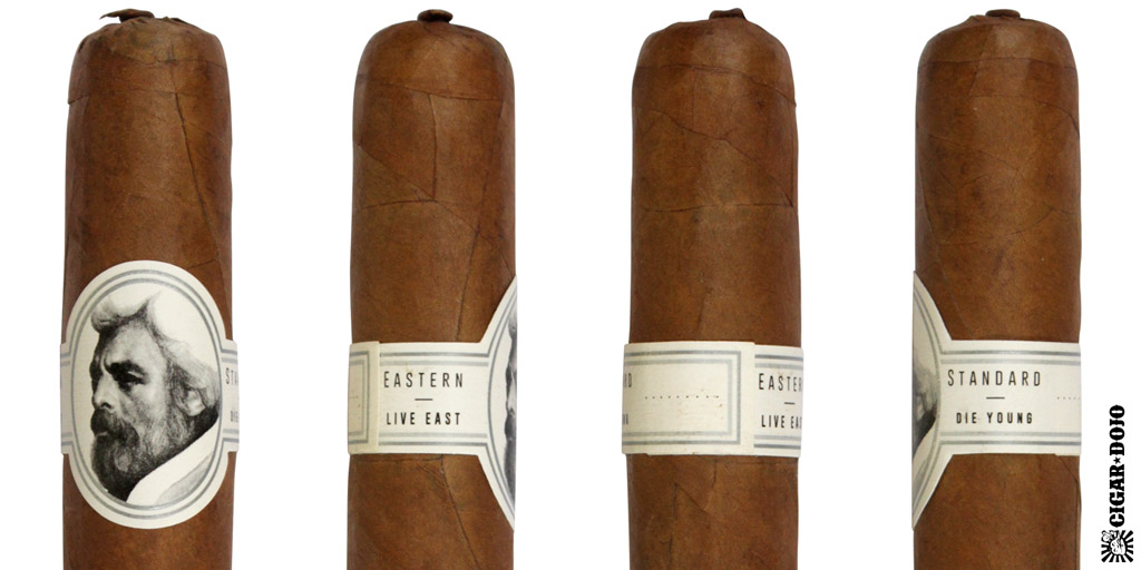 Caldwell Eastern Standard cigar and cigar band full view