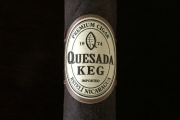 Quesada Keg 2016 cigar updated band