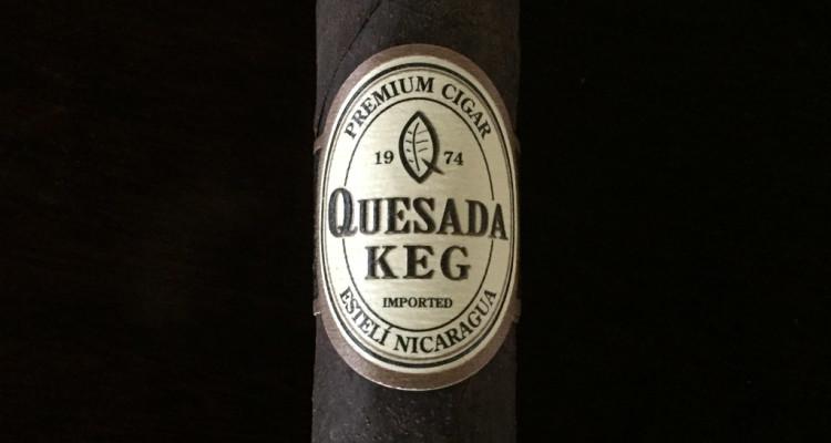 Quesada Keg 2016 cigar updated band