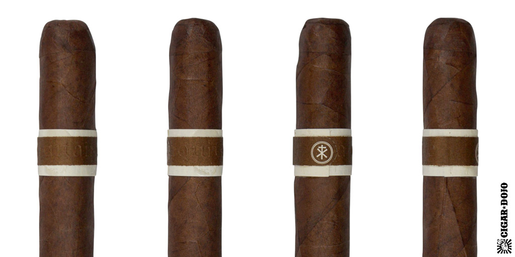 RoMa Craft Aquitaine cigar and cigar band full view