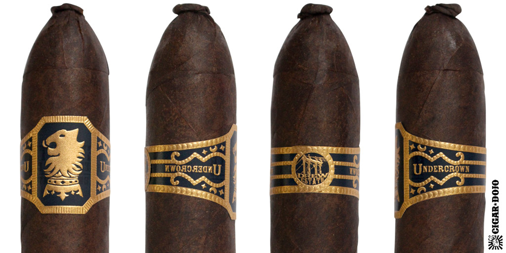 Drew Estate Undercrown Pig cigar and cigar band full view