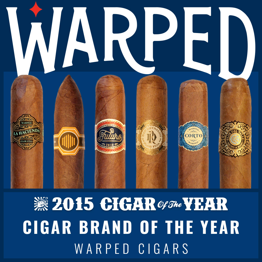 Warped Cigars Cigar Brand of the Year 2015
