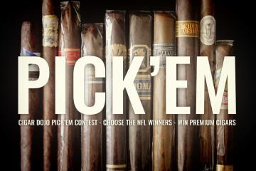 Cigar Dojo premium cigar NFL Pick'em contest