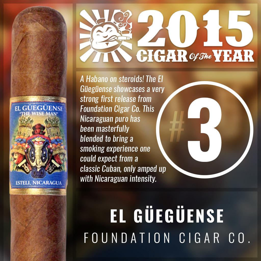 El Güegüense #3 cigar of the year 2015