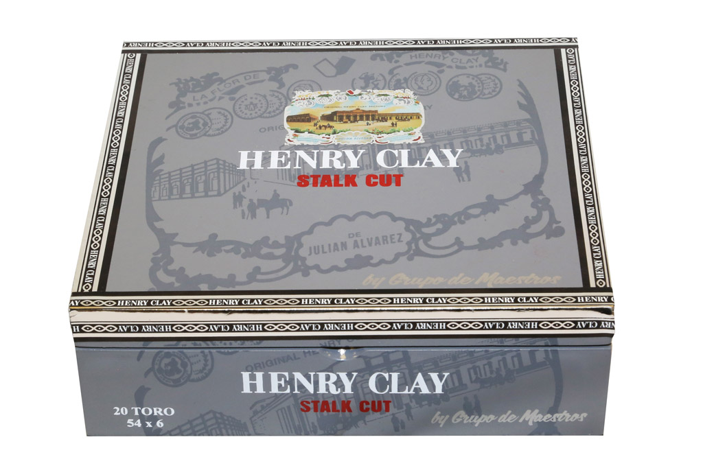 Henry Clay Stalk Cut cigar packaging