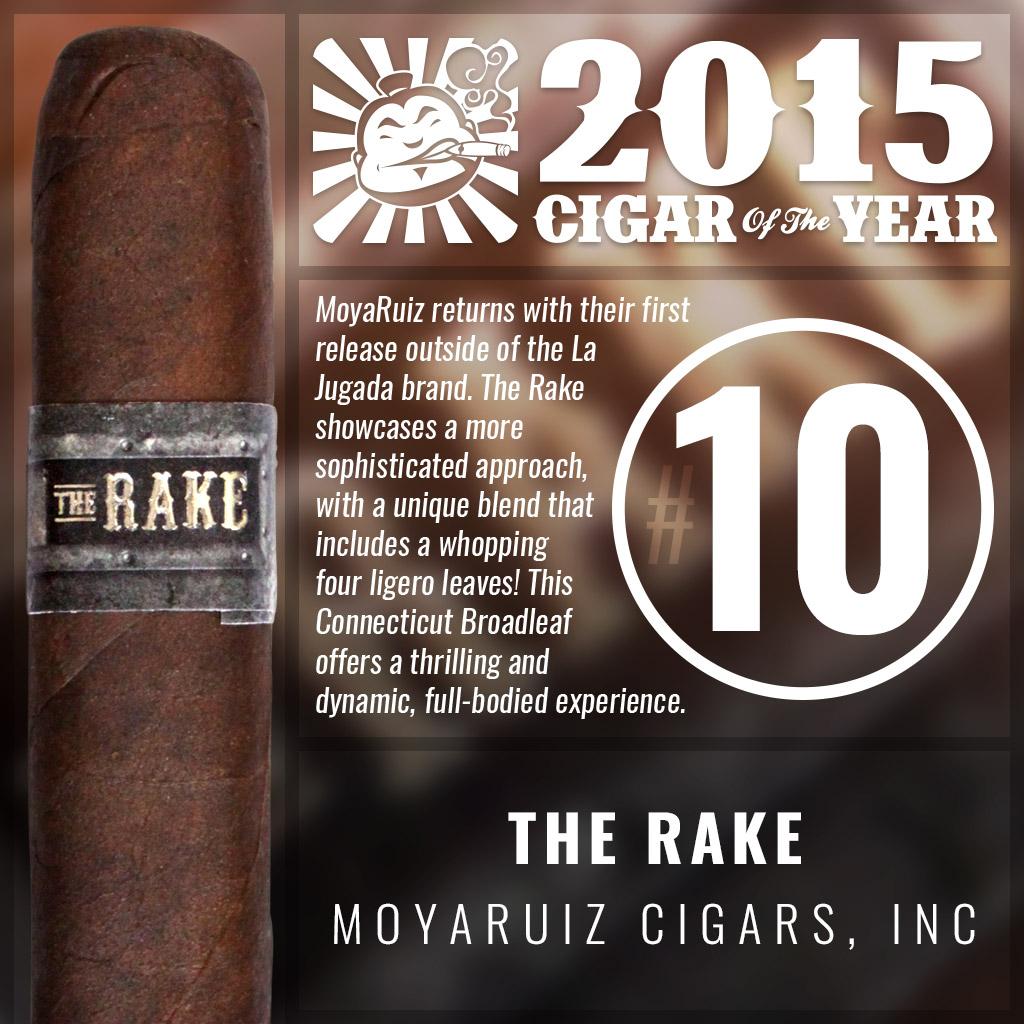 MoyaRuiz The Rake #10 cigar of the year 2015