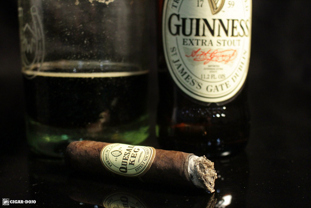 Quesada Keg 2016 and Guinness beer pairing